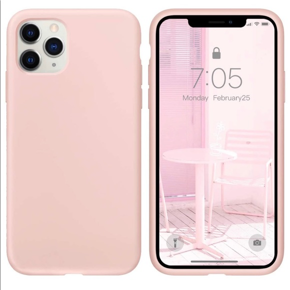 Iphone 11 pro case pink sand